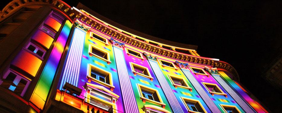 Arrojando luz y color a tu vida.